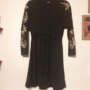 Topshop Maternity Embroidered Dress